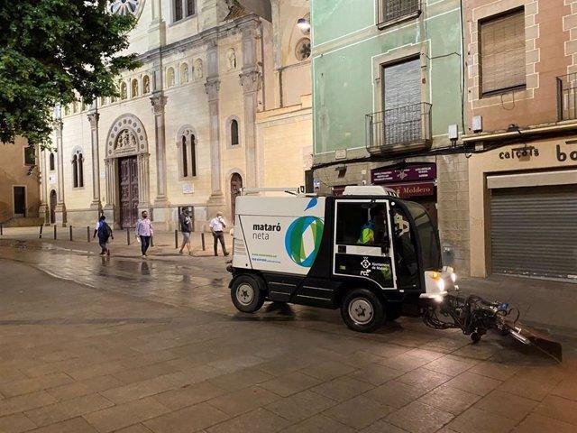 Baldeadora Servicio Limpieza, Mataró