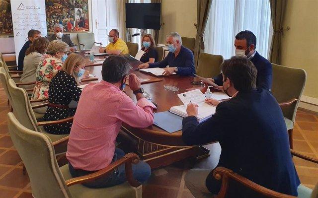 Consejo de Gobierno de la Diputación de Guadalajara.