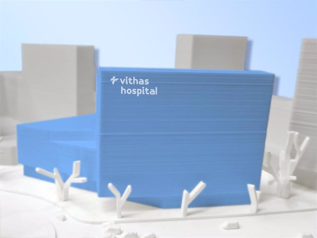 El nuevo hospital de Vithas estará ubicado en la comarca del Baix Llobregat (Barcelona) y contará con una superficie de 40.000 metros cuadrados