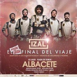 Cartel Izal Albacete 2021