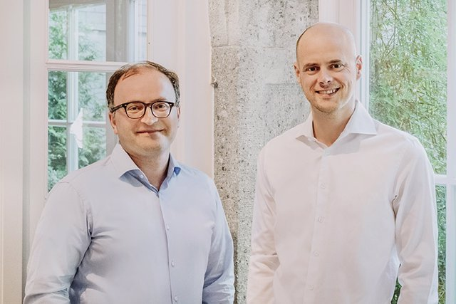 El consejero delegado de Deposit Solutions, Tim Sievers, y el de Raisin, Tamaz Georgadze, dirigirán Raisin DS.