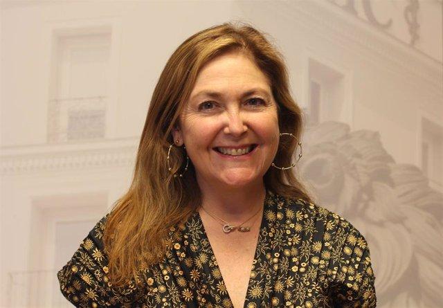 La doctora María Isabel Moya, vicepresidenta primera del CGCOM