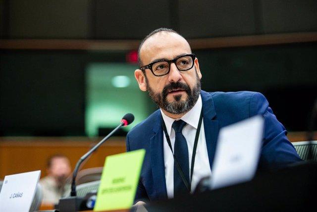 Archivo - El eurodiputado de Ciudadanos, Jordi Cañas,