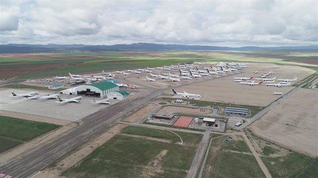 Las obras del hangar del aeropuerto de Teruel con capacidad para dos aviones A-380 se volverán a licitar.