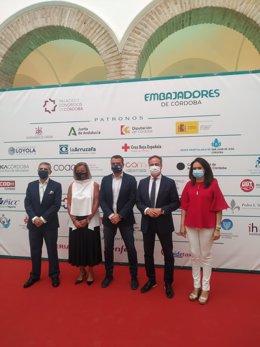 La delegada de Turismo en la Diputación de Córdoba, Inmaculada Silas (dcha.), en las III Jornadas Técnicas de Embajadores de Córdoba 'Córdoba: destino MICE'.