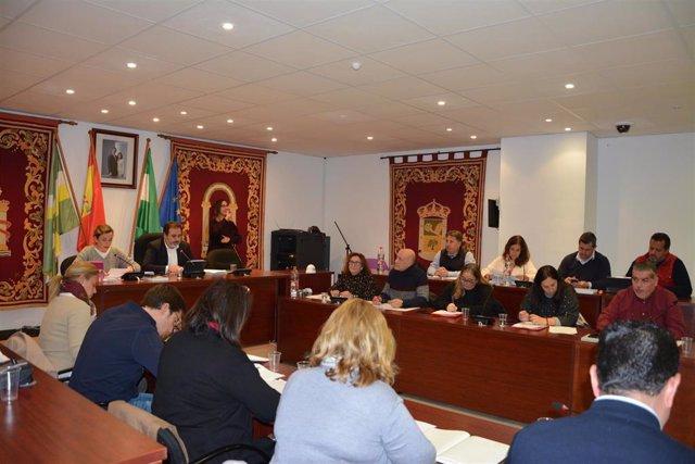 Archivo - Pleno del Ayuntamiento de Bormujos