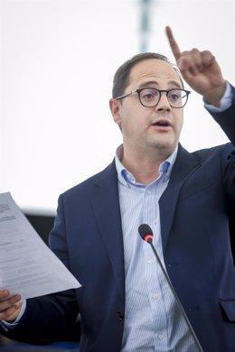 El eurodiputado del PSOE por La Rioja, César Luena