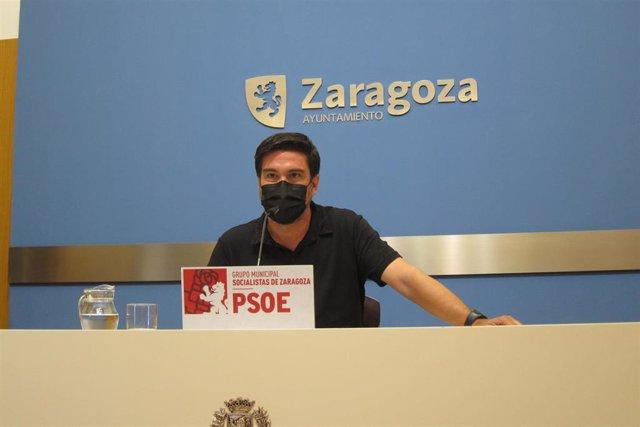 Foto de archivo del concejal del PSOE en el Ayuntamiento de Zaragoza, Horacio Royo.