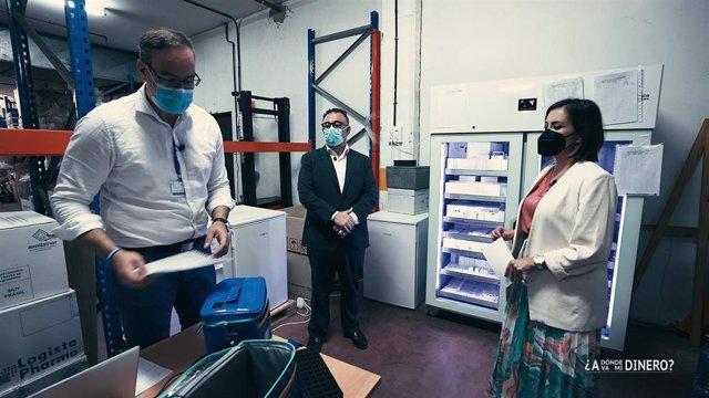 Un momento del programa de la TVC que se emite este martes y que analiza a dónde ha ido el gasto sanitario durante la pandemia de coronavirus