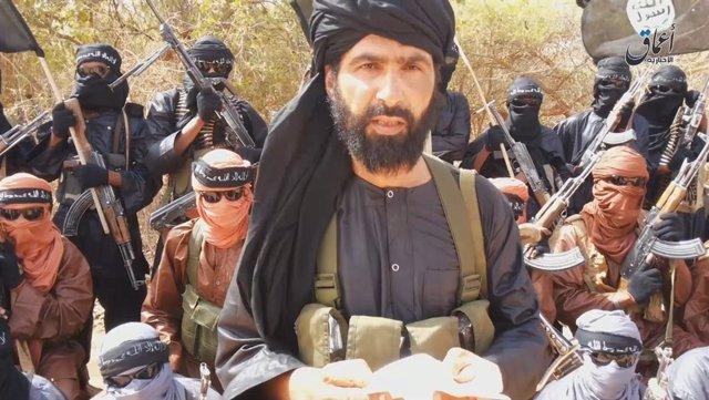 Archivo - Adnan Abú Walid al Saharaui, líder de Estado Islámico en el Gran Sáhara