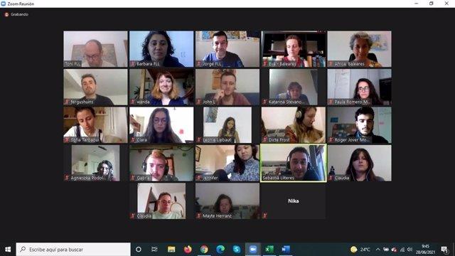 Formación online de la Conselleria de Asuntos Sociales para los jóvenes que participan en proyectos del Cuerpo Europeo de Solidaridad de todo el Estado.