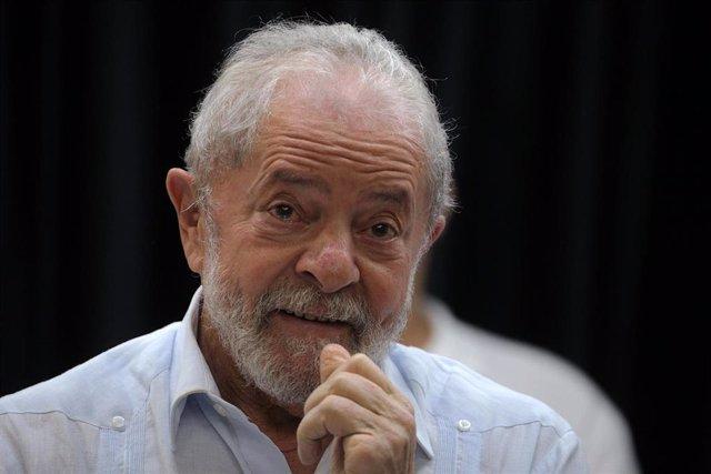 Archivo - El expresidente de Brasil Luiz Inácio Lula da Silva