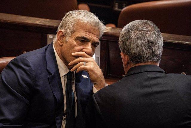 El ministro de Exteriores de Israel, Yair Lapid