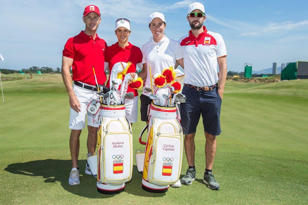 Carlota Ciganda y Azahara Muñoz, bazas españolas en el torneo de golf  femenino de Tokyo 2020