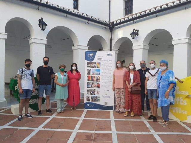Estreno de la exposición 'Cádiz, una provincia de colores' en Ubrique.