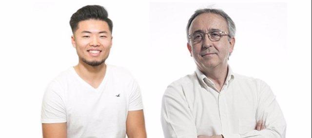 Los investigadores Jia Liang Sun-Wang y Antonio Zorzano