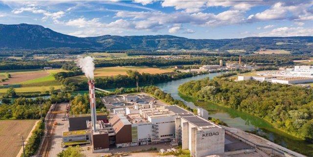 Complejo industrial de la empresa Kebag en Zuchwill (Suiza), que utilizará la tecnología de Técnicas Reunidas