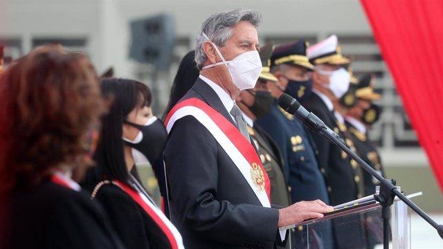 El presidente de Perú, Francisco Sagasti