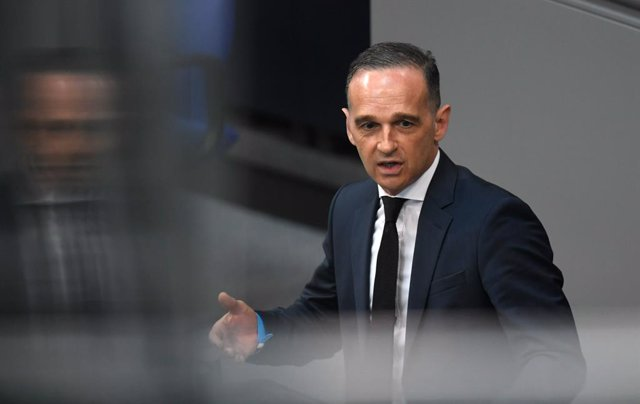 FILED - 23 June 2021, Berlin: German Foreign Minister Heiko Maas speaks during a plenary session of the Bundestag on the withdrawal of the Bundeswehr from Afghanistan. Maas has defended the lifting of Germany's blanket travel warning for all coronavirus r
