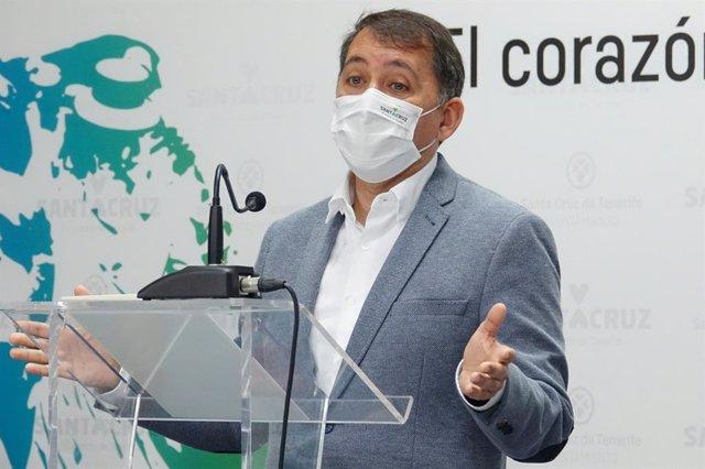 Archivo - El alcalde de Santa Cruz de Tenerife, José Manuel Bermúdez