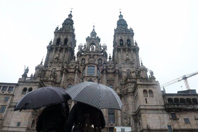 Archivo - Catedral de Santiago. Foto de archivo.