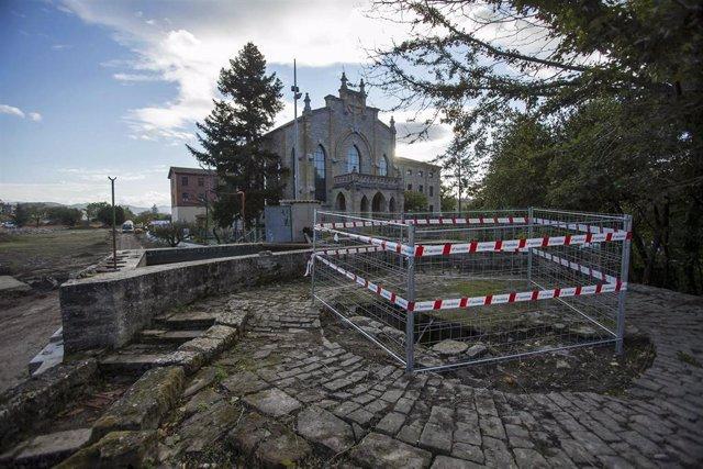 Archivo - La noria de sangre de la Magdalena se restaurará y quedará integrada en el parque sur de Txantrea