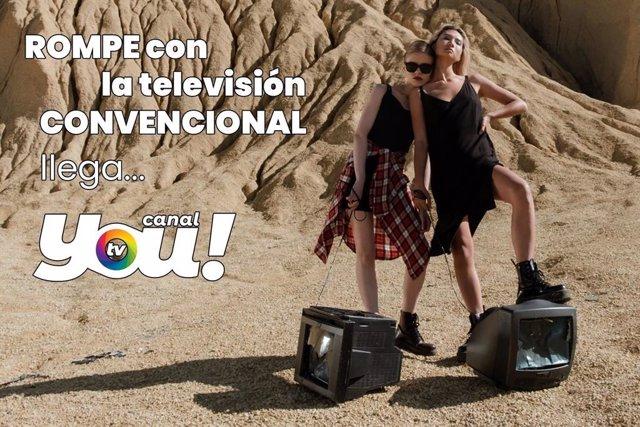 Canal YOU!, nueva televisión LGTBI