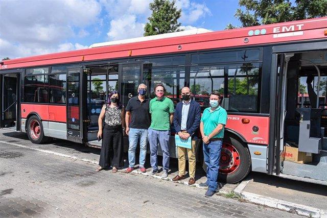 Donación de autobús de la EMT
