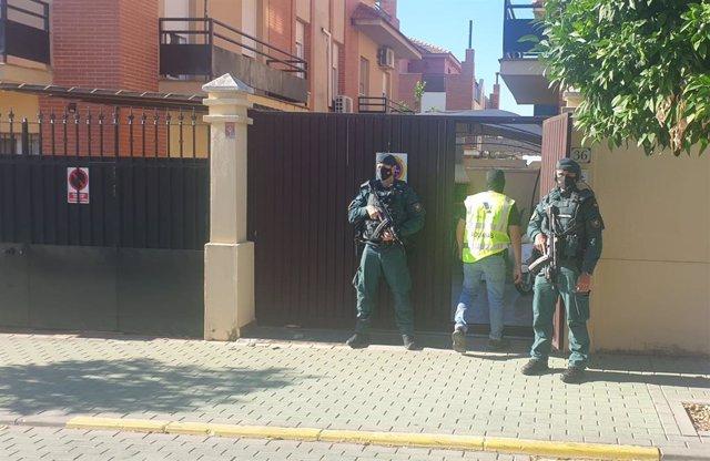 Agentes de la Guardia Civil en una operación contra el narcotráfico.
