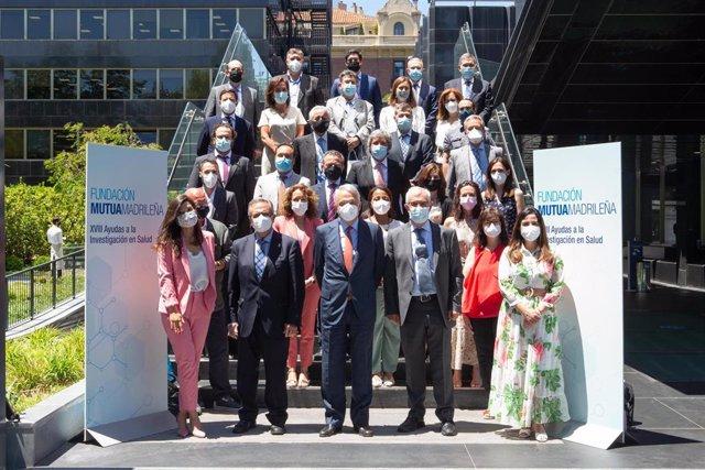Fundación Mutua Madrileña destina 2 millones de euros a financiar 27 nuevos proyectos de investigación en salud en España