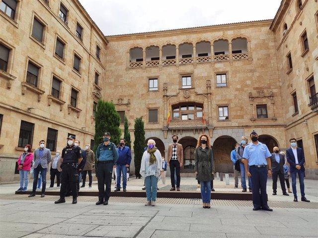 (AMP) Sucesos.- Muere la mujer apuñalada por su pareja en Doñinos (Salamanca) hace una semana
