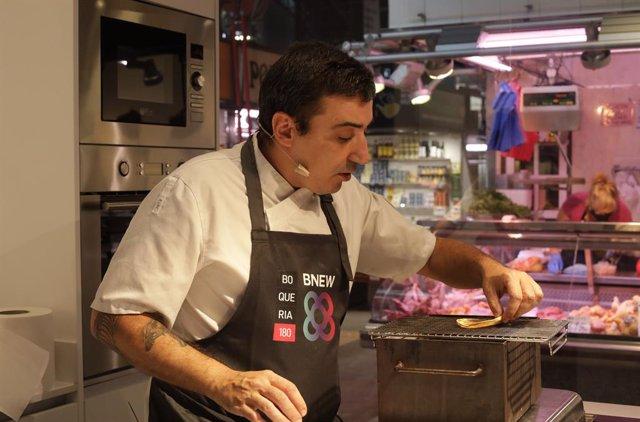 El Mercado de la Boqueria y el Consorcio de la Zona Franca de Barcelona se alían para celebrar las jornadas 'Cocina 4.0'.