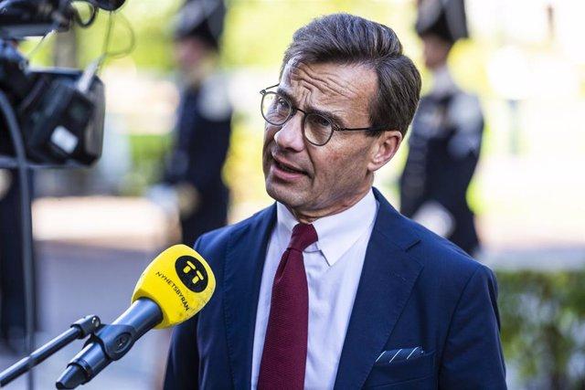 Ulf Kristersson, líder del Partido Moderado
