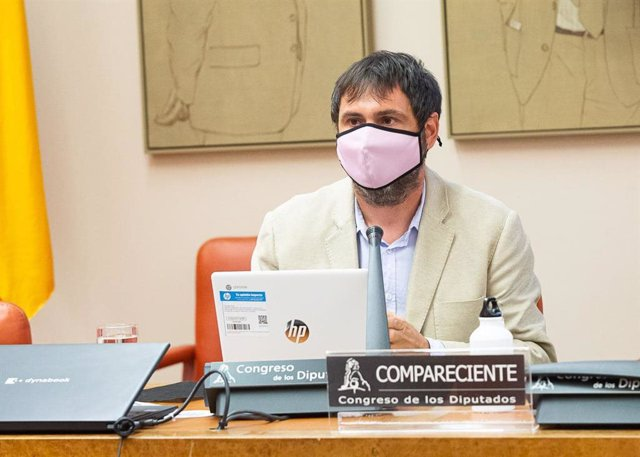 El director general de Residuos y Educación Ambiental, Sebastián Sansó
