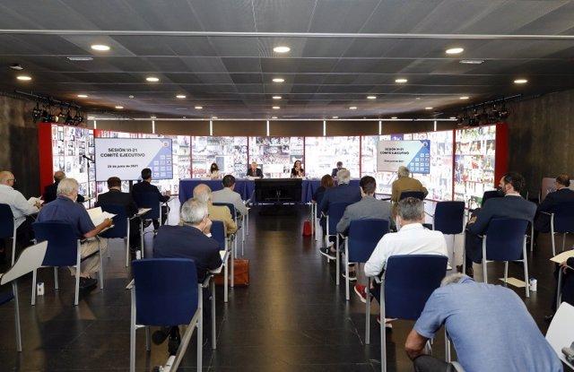 El Comité Ejecutivo del COE se ha reunido este martes en Madrid