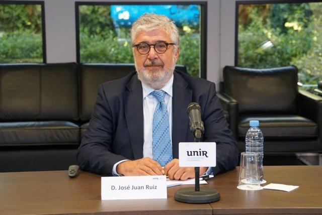 Archivo - El presidente del Real Instituto Elcano, José Juan Ruiz