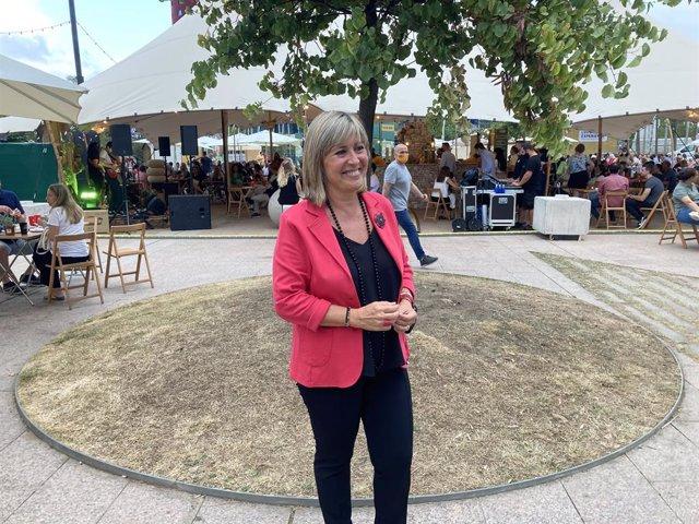 L'alcaldessa de L'Hospitalet de Llobregat (Barcelona), Nuria Marín.