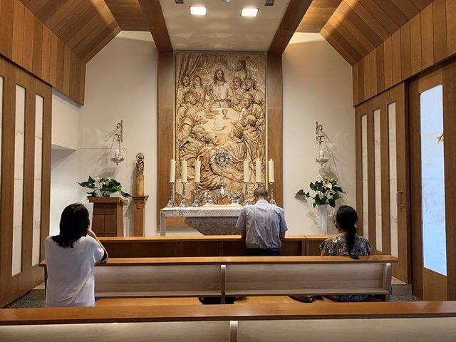 La capilla de Adoración Perpetua San Pascual Bailón de Zaragoza cumple diez años.