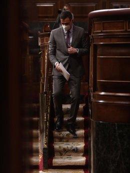 Archivo - El presidente del Gobierno, Pedro Sánchez, en el Congreso