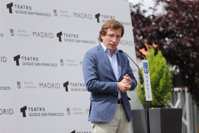 El alcalde de Madrid, José Luis Martínez-Almeida.