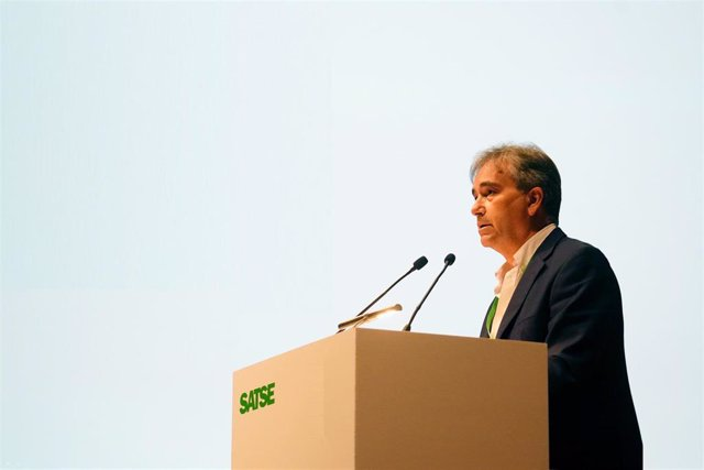 El presidente de Satse, Manuel Cascos.