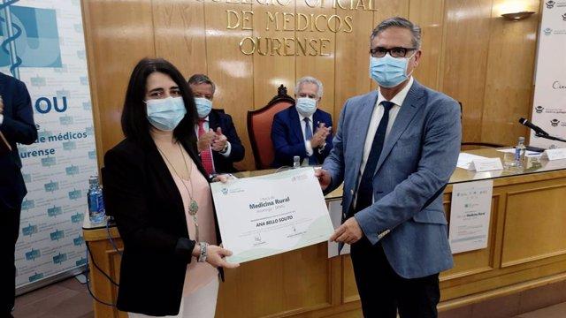 Entrega de la I Beca de Medicina Rural ASOMEGA-SEMG