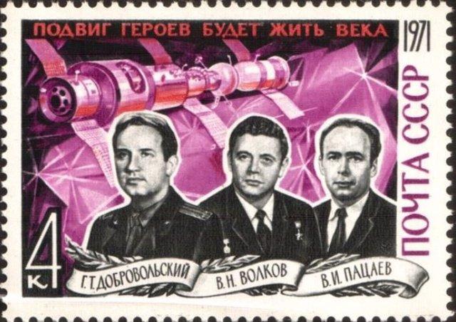 Cosmonautas de la Soyuz 11