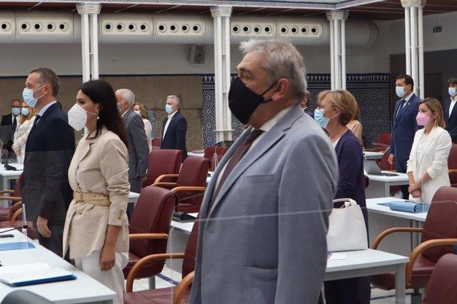 El portavoz del grupo parlamentario de Ciudadanos, Francisco Álvarez