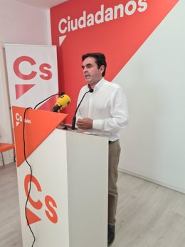 El coordinador provincial de Cs en Jaén, Miguel Moreno.