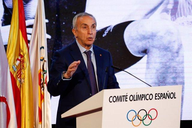 Archivo - Alejandro Blanco, presidente del COE