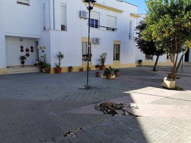 Viviendas de San José del Valle donde se mejorará la accesibilidad