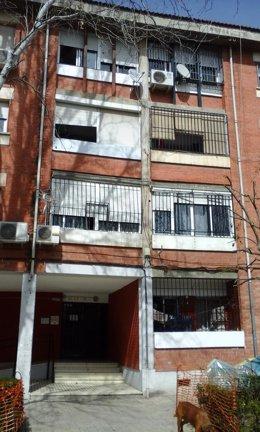 Viviendas en la avenida Joaquina Eguaras de Granada.