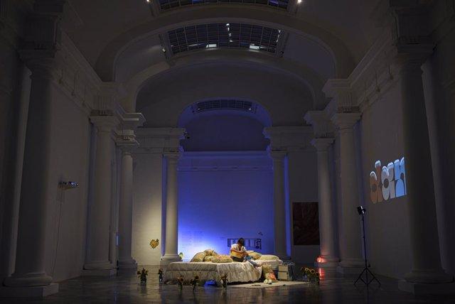 Dani, la mayor representante del bedroom pop en España en la exposición 'El Dormitorio' del CCCC