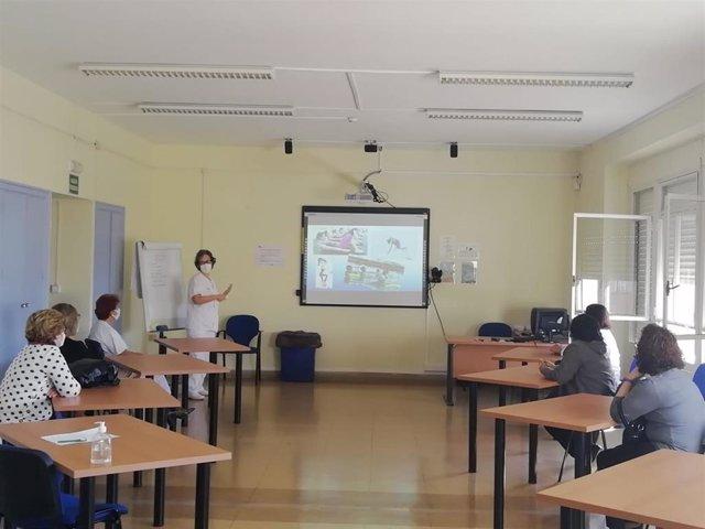 Escuela de Linfedema en el Hospital Universitario Torrecárdenas